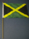 Jamaica Country Hand Flag - Medium (stitched).